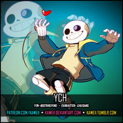 [YCH] Log!Sans for StrikeYoko