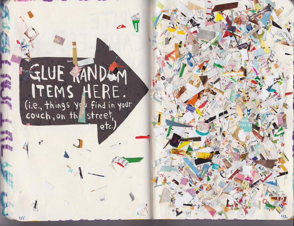 Glue Random Items Here by purplecontortionist on DeviantArt