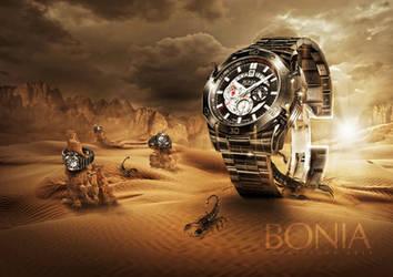 Bonia Watch Commission by FlewDesigns