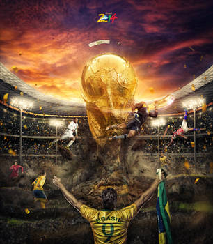 Brazil FIFA World Cup by FlewDesigns