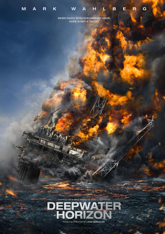 DEEPWATER HORIZON Movie Poster |Deepwater Horizon Movie Poster
