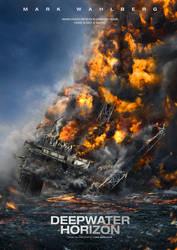 Deepwater Horizon - Movie Poster by FlewDesigns