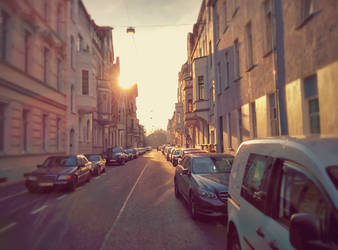 Evening Street by Musicaloris
