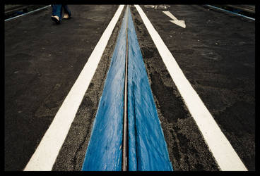 Follow the blue line