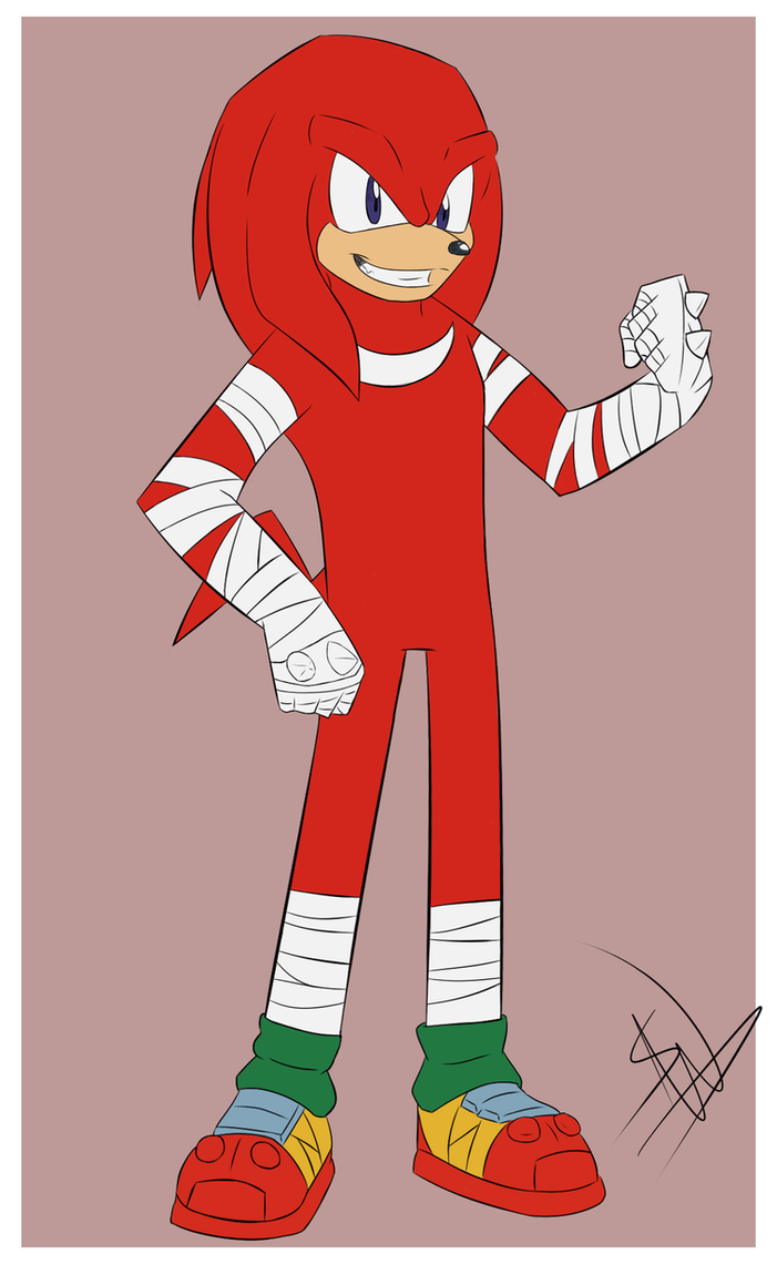 SB: Knuckles the Echidna by SonicWind-01 on DeviantArt
