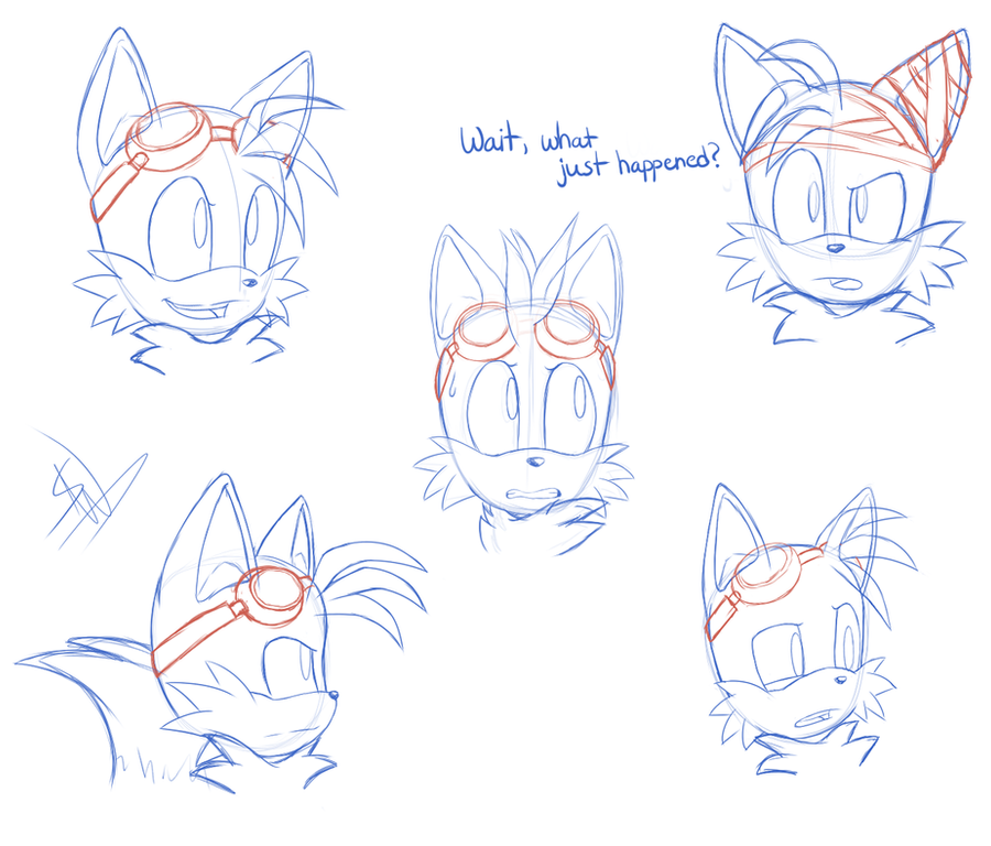 SB: Tails Expressions by SonicWind-01