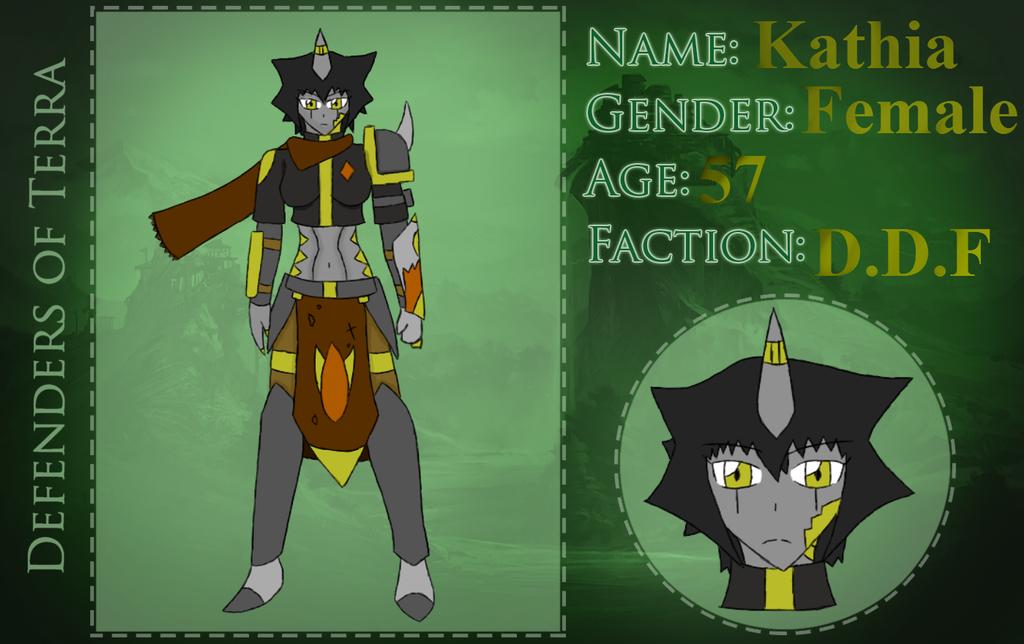 Kathia - Defenders of Terra by luizjrs01