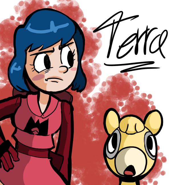Terra by Pencil-snap