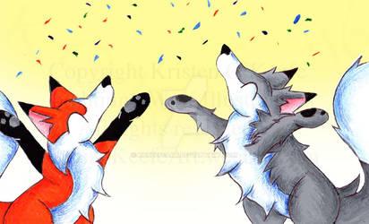 Celebration! by KOKeefeArt