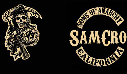 Sons of Anarchy Logon Screen by Endersleigh