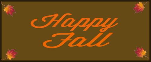 Fall Banner by Endersleigh