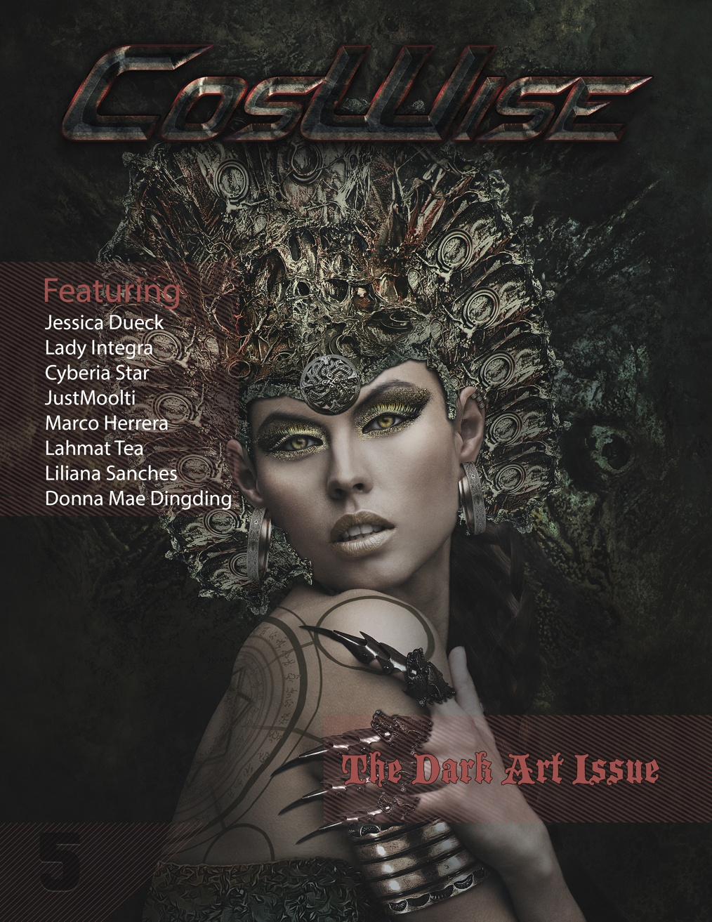 CosWise Magazine Issue 5 (Dark Art Issue) by coswisemagazine