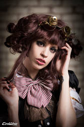 Margarette Ghost Steampunk Tutorial by coswisemagazine