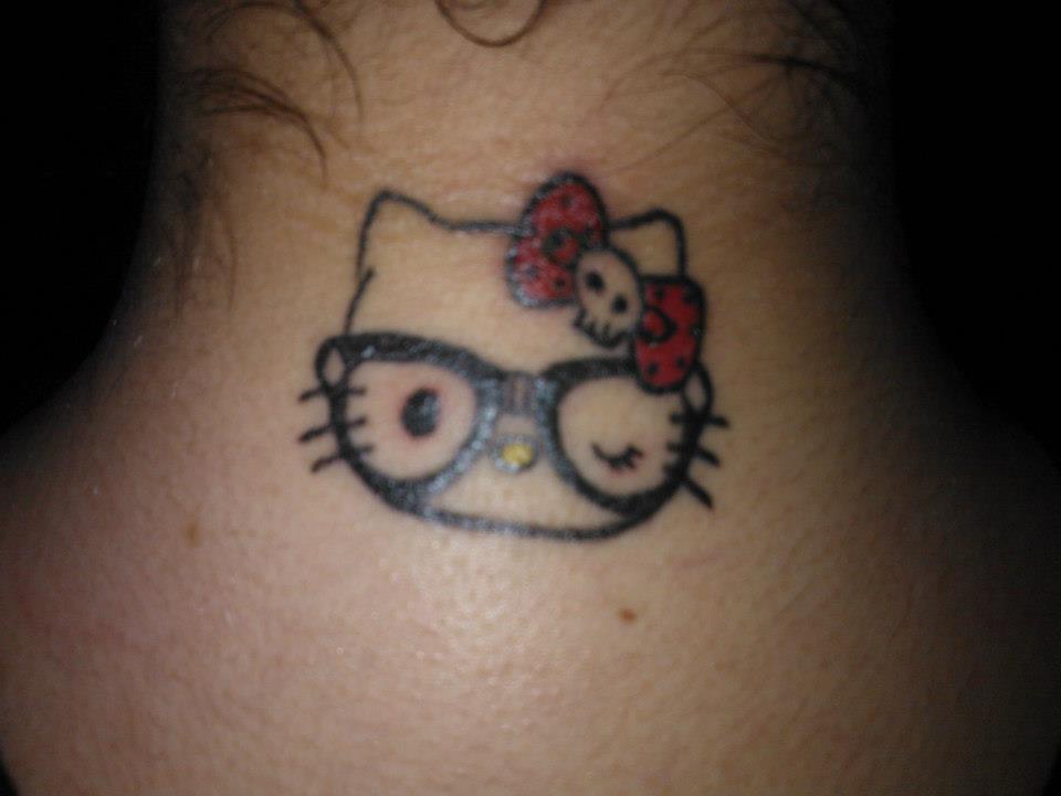 Hello Kitty Tattoo By Bakaneko22 On Deviantart