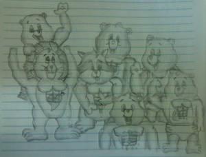 Os Ursinhos Musculosos ( Bulk Bears)