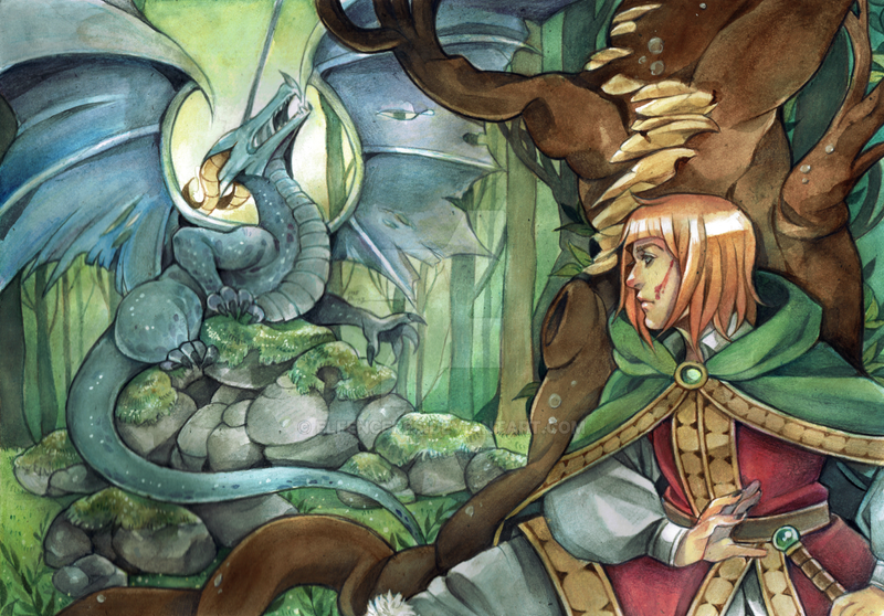Dragonslayer by ElfenCeres