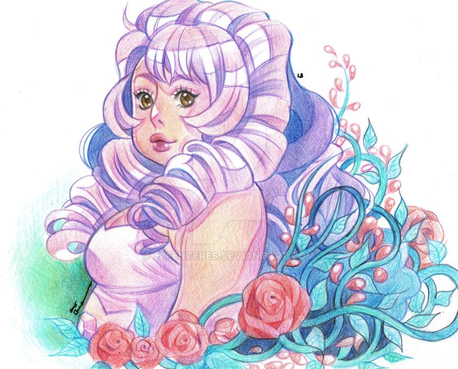 Steven Universe: Rose Quartz by ElfenCeres