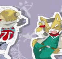 Sheik + Fox CaramellDansen by dj-INFERNO