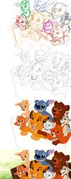 Disney Step by Step by TamberElla