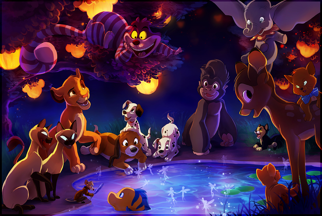 The Gathering of Disney by TamberElla