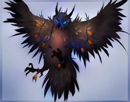 Owl Beast by TamberElla