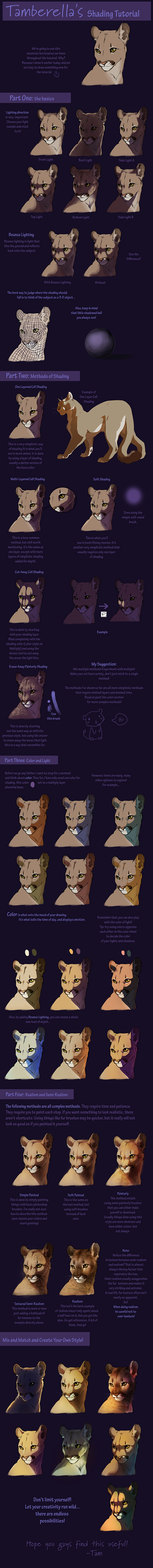 Giant Shading Tutorial by TamberElla