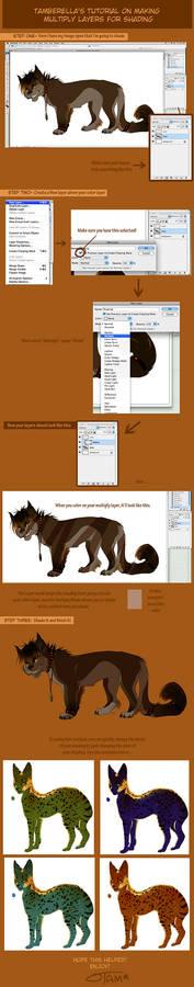 Photoshop Multiply Layer Tut