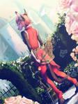 Rose Garden by TamberElla