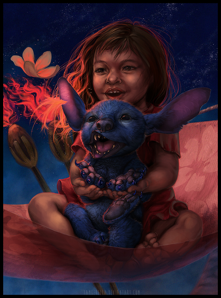 Lilo and Stitch by TamberElla