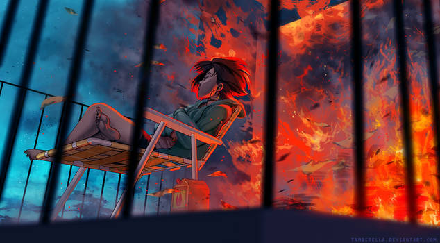 Controlled Burn by TamberElla