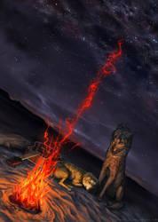 Fire Glow by TamberElla