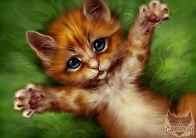 Catamancer Kitten by TamberElla