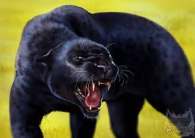 Catamancer Black Panther by TamberElla