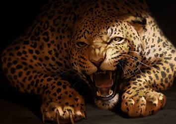 Catamancer Jaguar by TamberElla