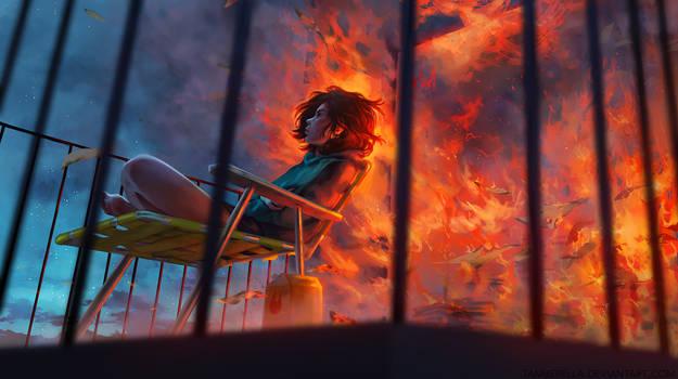Controlled Burn -Take 2- by TamberElla