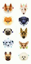 Pups 2 by TamberElla