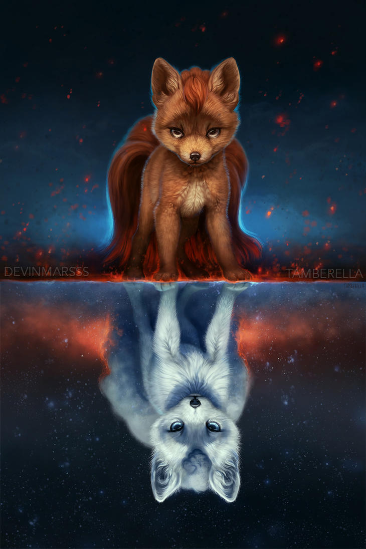 Vulpix Mirrored by TamberElla