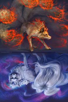 Ninetales Mirrored
