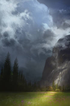Clouds Hang Low