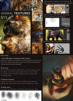 Painting Animal Textures Tutorial