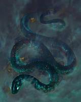 Starry Serpent by TamberElla