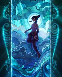 Korra, the Avatar by TamberElla