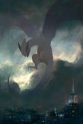 Titan Lugia by TamberElla