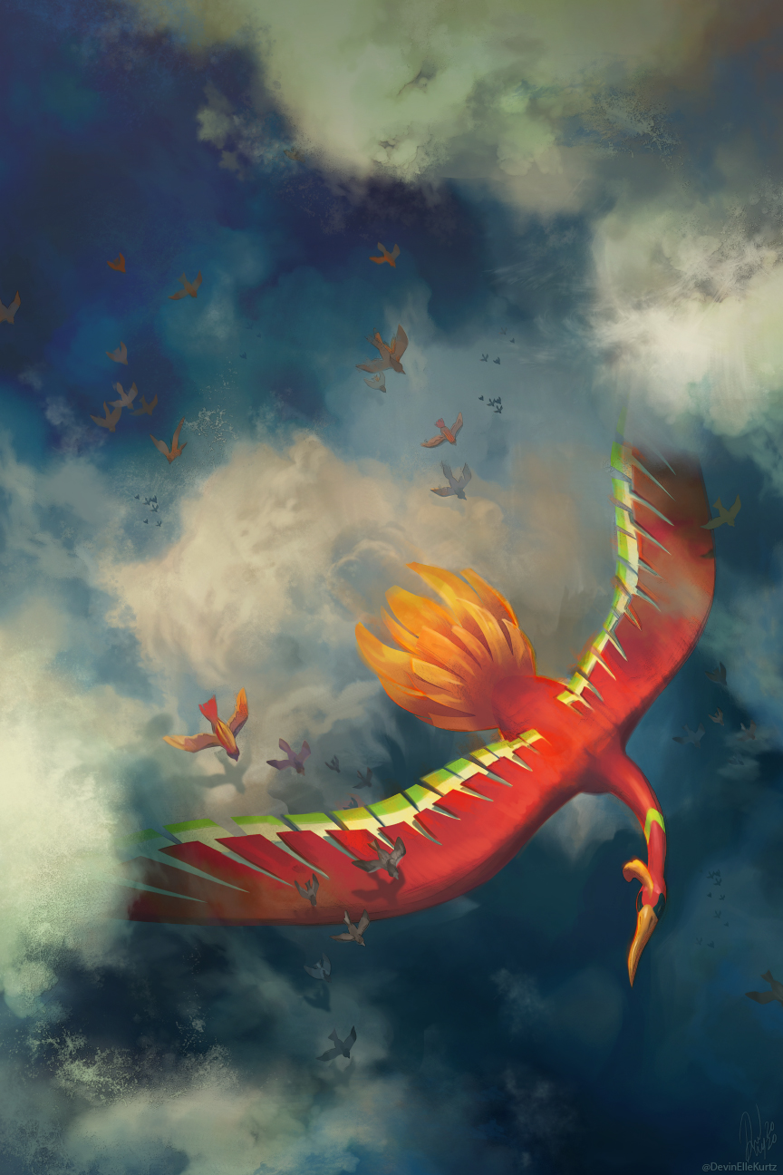 Ho-Oh in the Sky