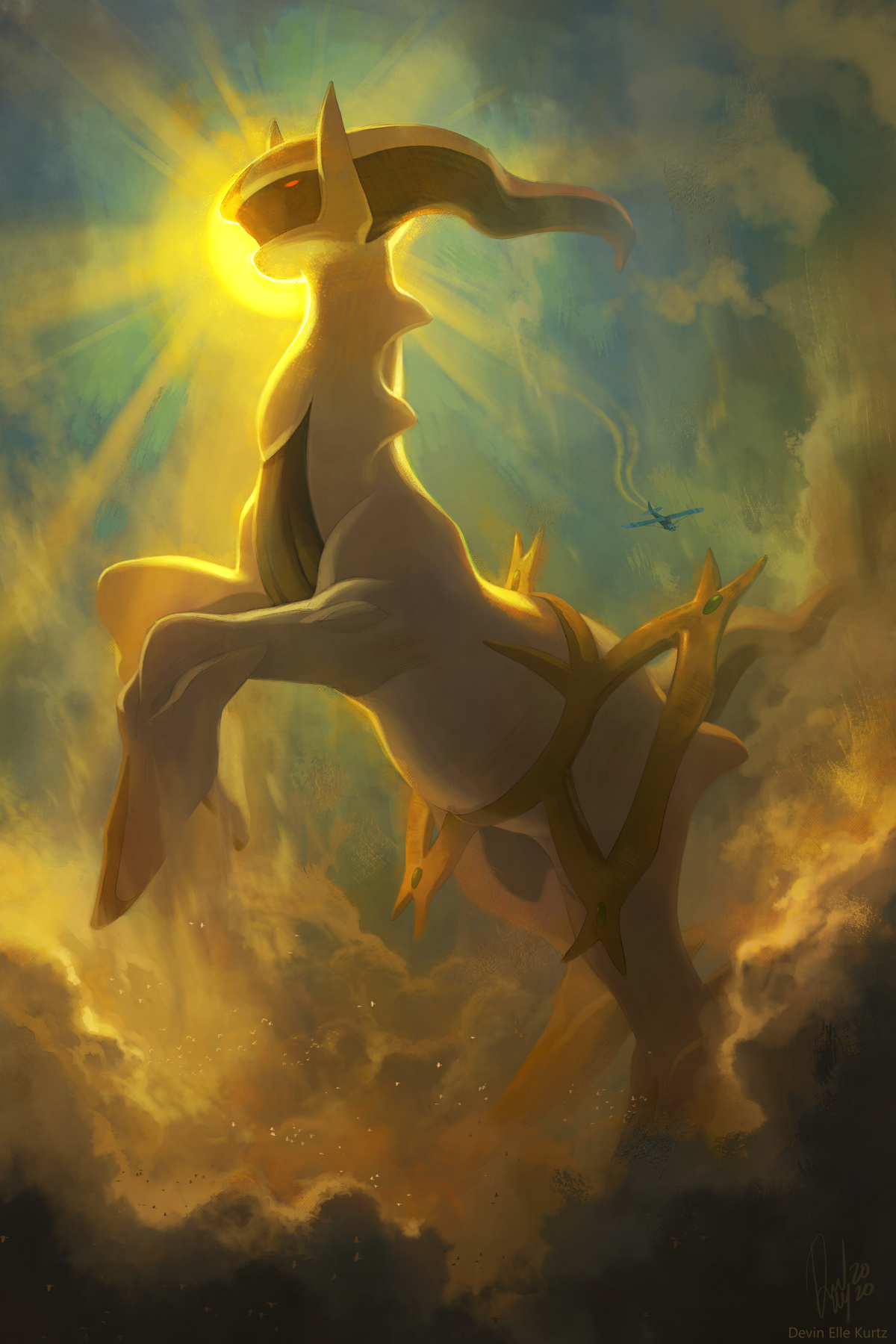 Heavenly Arceus