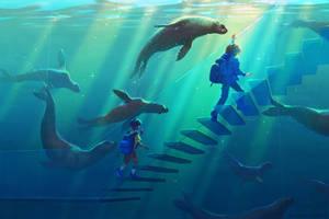 Racing the Sea Lions