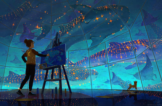 Painting the Whales