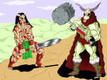 Colored Barbarians