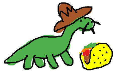 Spanish Dinosaur by droidguy1119