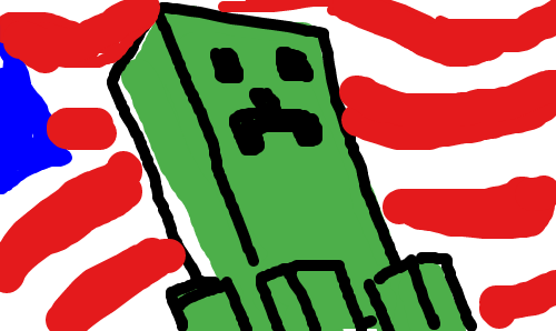 Comrade Creeper by droidguy1119